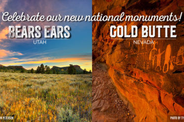 President Obama Designates Bears Ears & Gold Butte National Monuments!
