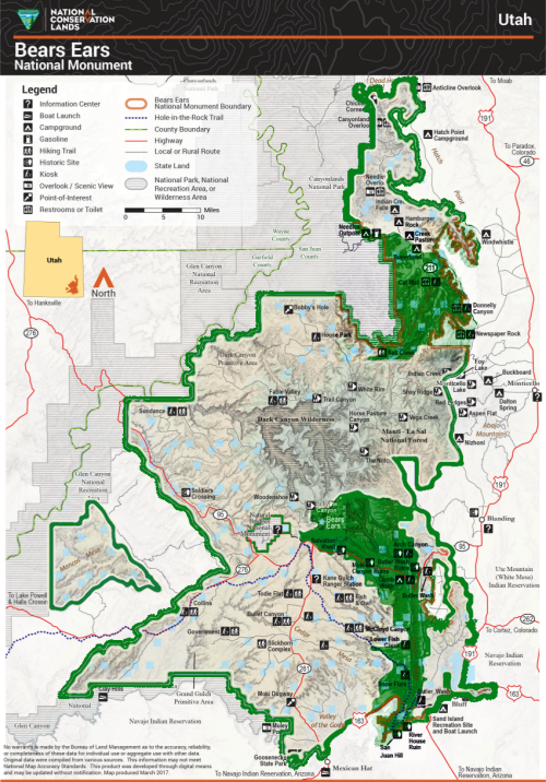 Oct 2-4: BLM Hosts Public Meetings for Draft Bears Ears National Monument Plans